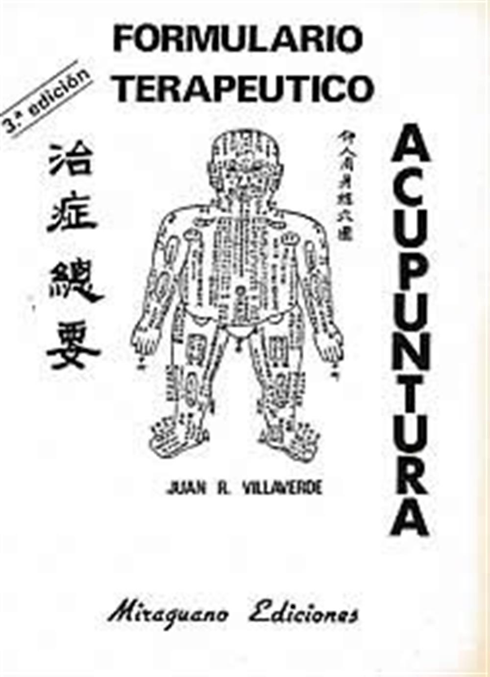 Formulario Terapeutico  de acupuntura