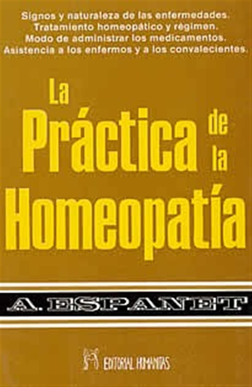 La práctica de la homeopatía