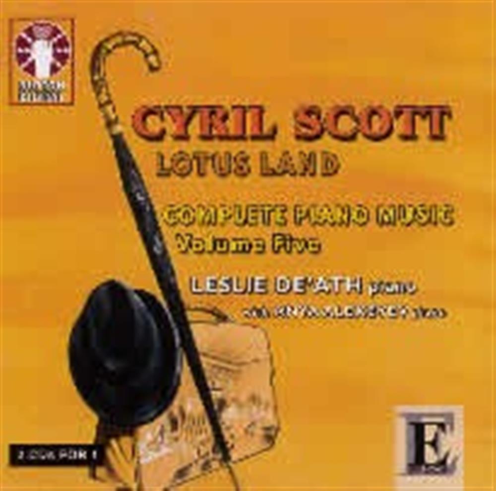 CD Lotus Land Complete Piano Music Volumen five