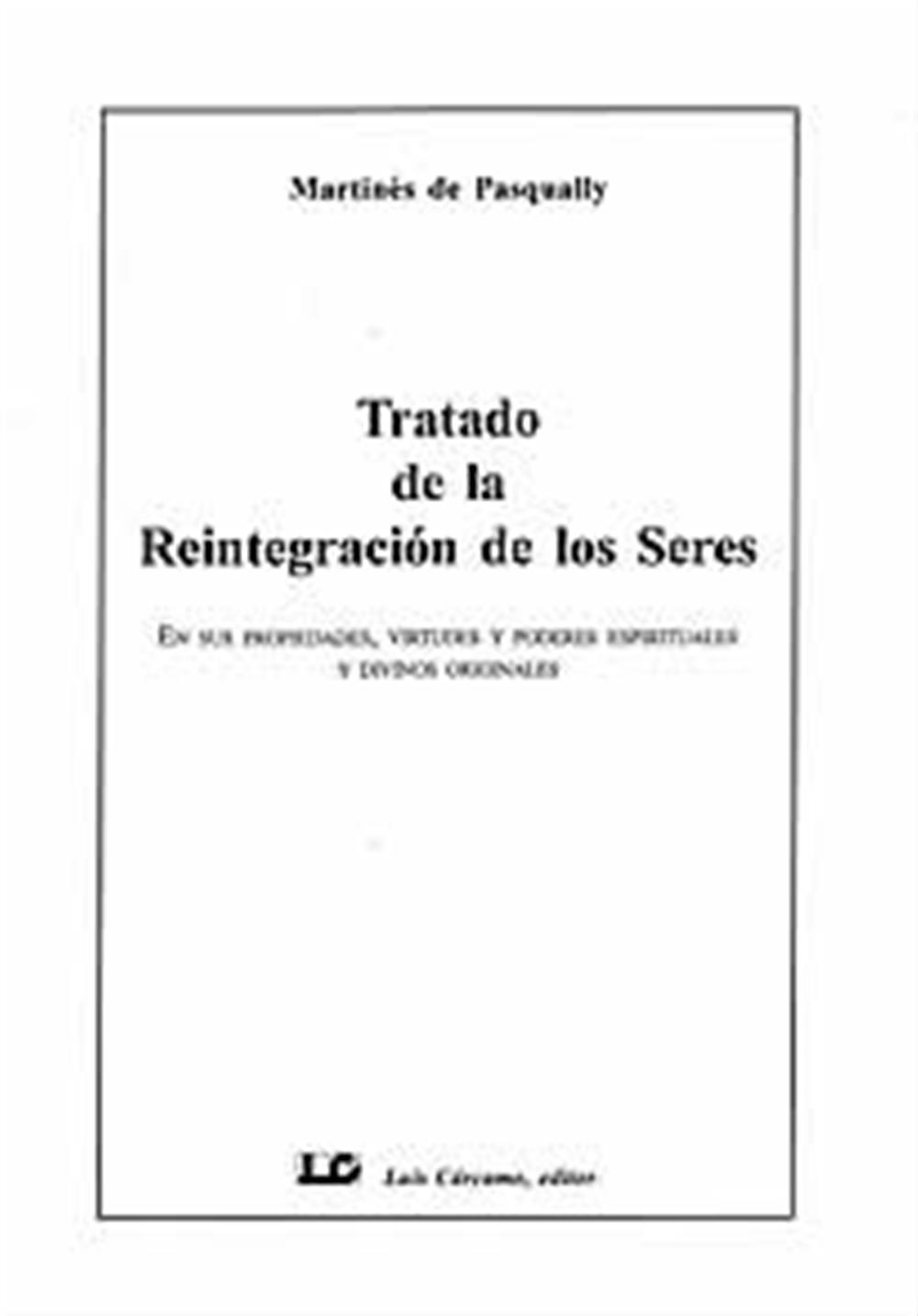 Tratado de la Reintegración de los Seres