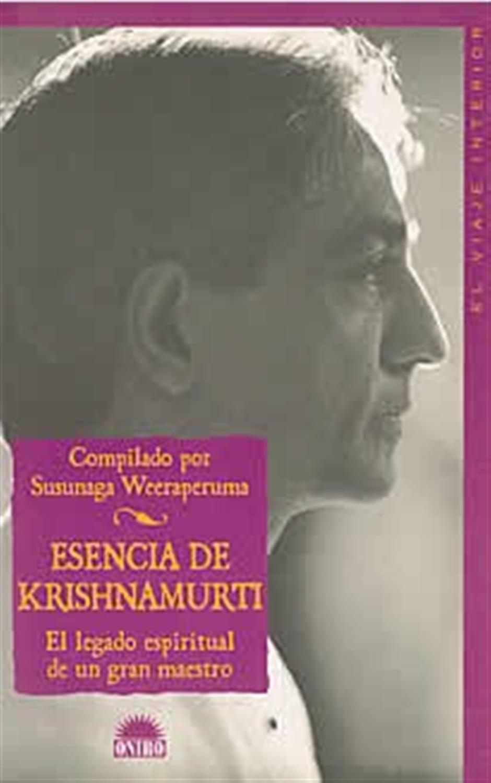 Esencia de Krishnamurti